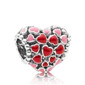 Pandora Burst Of Love Charm, 796557enmx